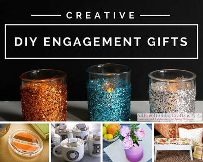 36 creative diy engagement gifts allfreeholidaycrafts creative diy engagement gifts negle Choice Image