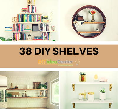 38 diy shelves the ultimate guide on how to build a shelf