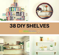38 DIY Shelves: The Ultimate Guide on How to Build a Shelf