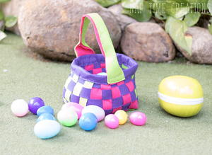 DIY Felt Easter Basket