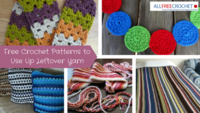 23 Free Crochet Patterns to Use Up Leftover Yarn