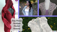 40 Easy Crochet Cardigan Patterns