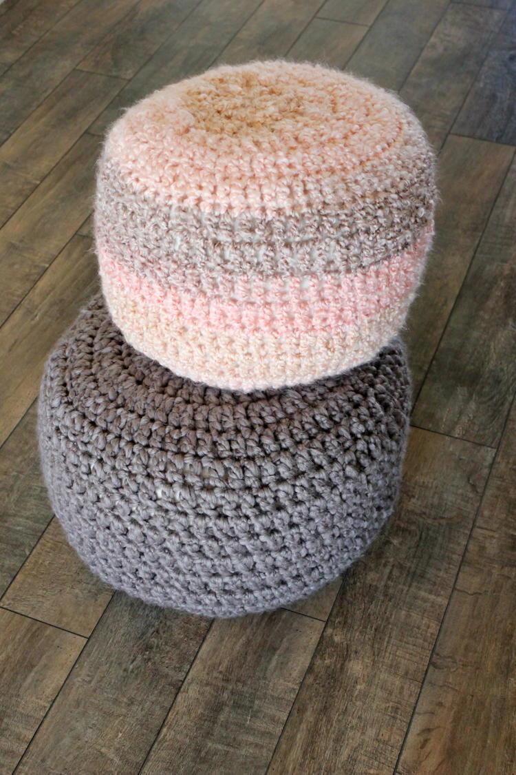 Floor Cushions Pattern : Crochet Floor Cushions AllFreeCrochet.com