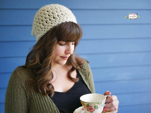 30 Minute Beginner Slouchy Hat