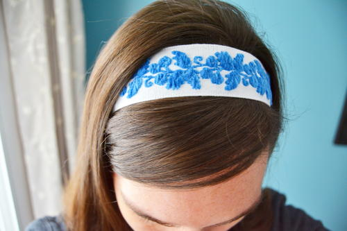 Easy No Sew Headband