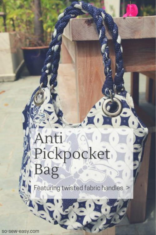 Anti Pickpocket Bag Pattern