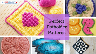 23 perfect crochet potholders allfreecrochet 23 perfect potholder patterns dt1010fo