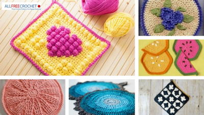 23 Perfect Crochet Potholders