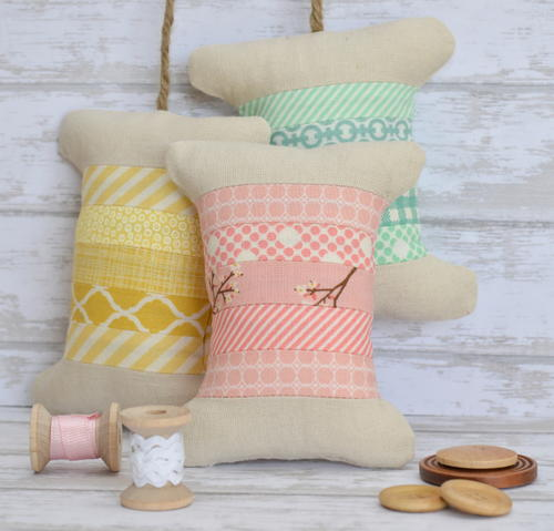 Spring Spool Pincushion Tutorial