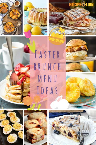 19 Easter Brunch Menu Ideas