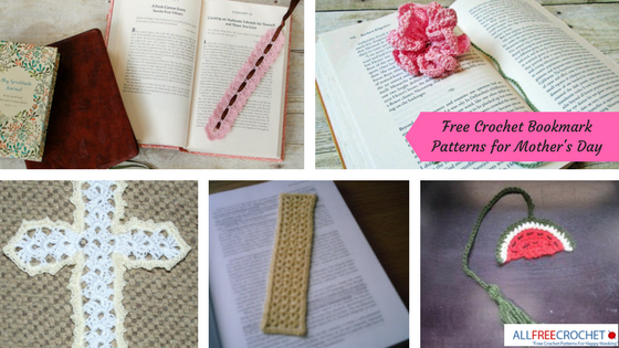 22 Free Crochet Bookmark Patterns For Mothers Day Allfreecrochet