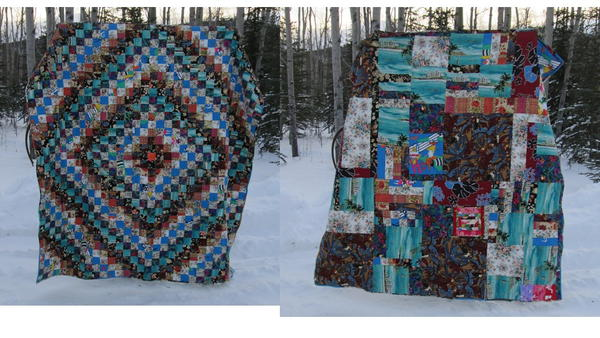 Trip Around The World Bed Quilt Favequilts