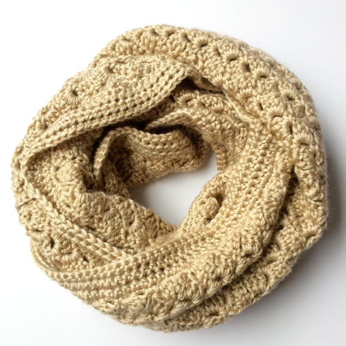 Crochet Infinity Scarf The Kimberly Scarf