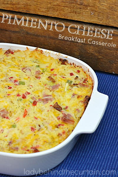 Pimento Cheese Breakfast Casserole