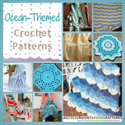 Soak Up The Sun 30 Ocean-Themed Crochet Patterns