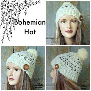 Bohemian Winter Hat