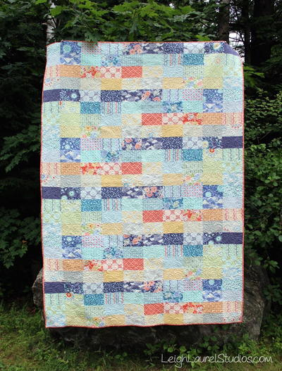 Ebb and Flow Quilt Pattern
