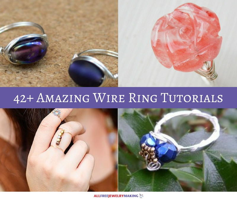 54 Simple Wire Jewelry Making Tutorials | AllFreeJewelryMaking.com