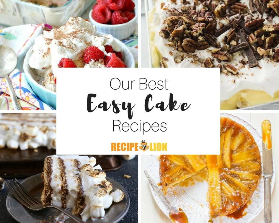 40 Easy Dump Cakes Cake Mix Recipes and More RecipeLioncom