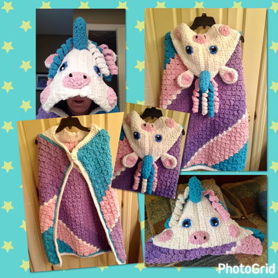 Unicorn Blanket C2C