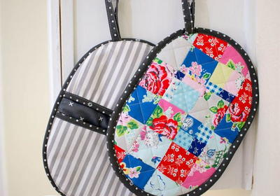 Patchwork DIY Potholder Pattern
