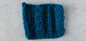 How to Knit the Pique Rib Stitch