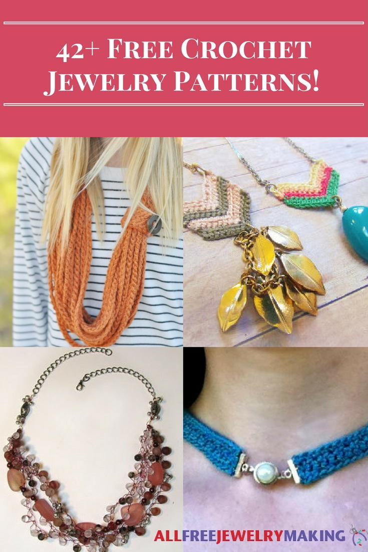 42+ Free Crochet Jewelry Patterns | AllFreeJewelryMaking.com