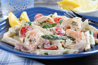 Winners Circle Shrimp Pasta Salad