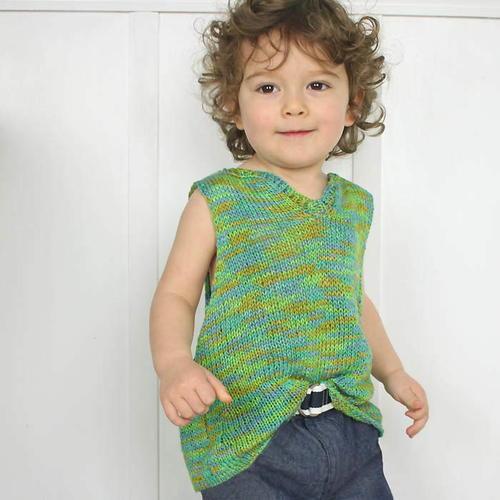 Toddler Knit Tank Top Allfreeknitting