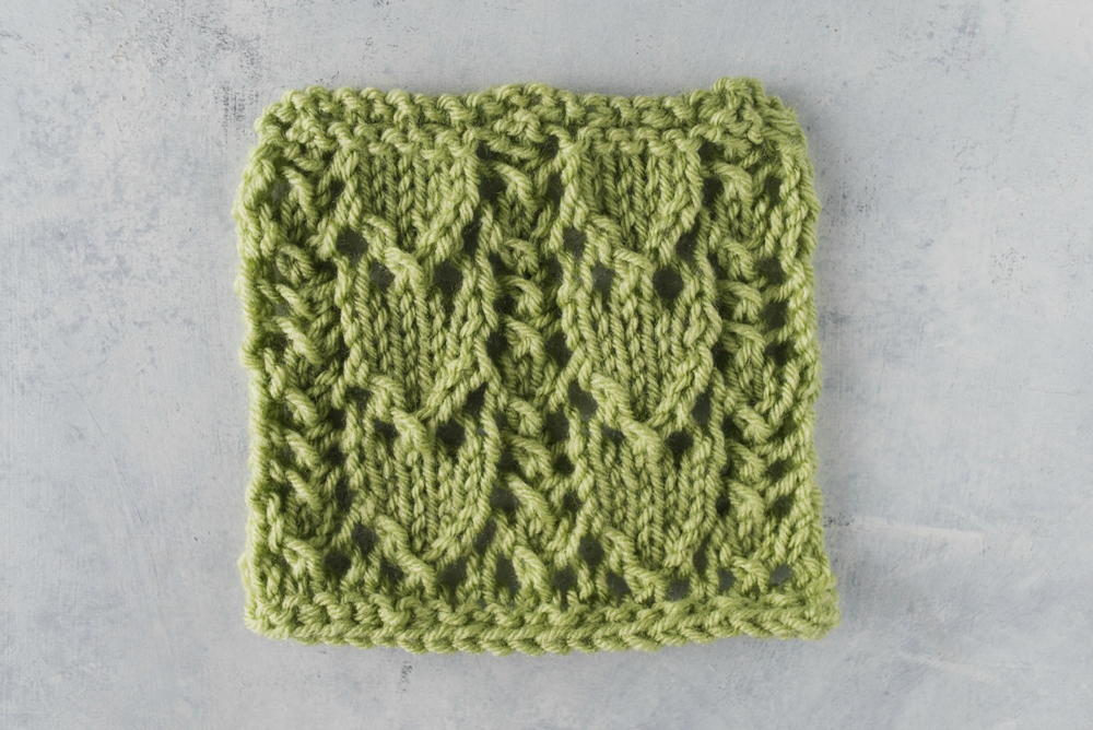 How To Knit The Feathered Ladder Stitch Allfreeknitting