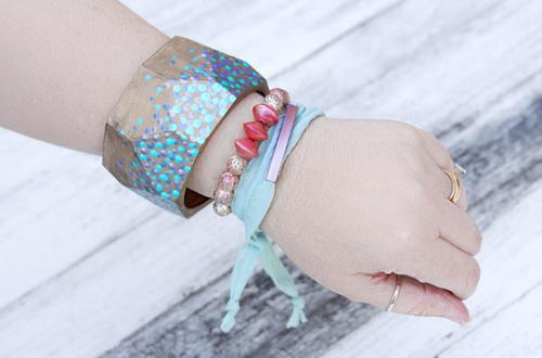 Mesmerizing Mermaid Inspired DIY Bracelets
