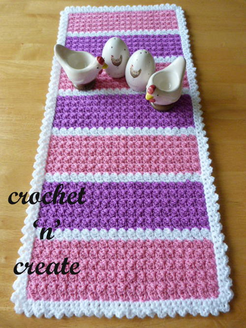 Crochet Table Runner AllFreeCrochet Gorgeous Crochet Table Runner Patterns