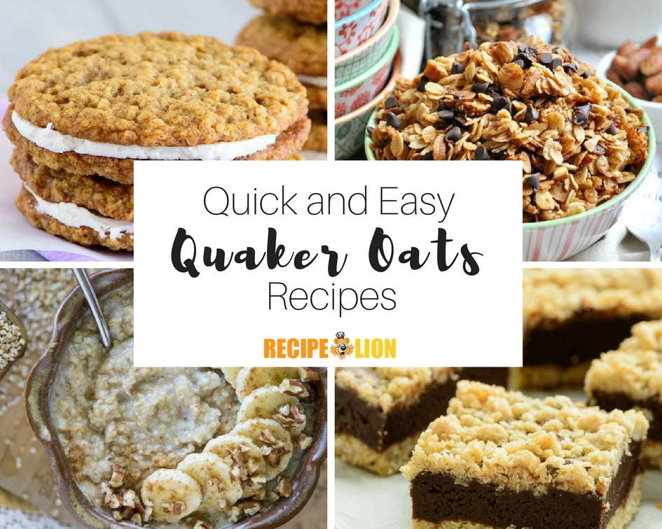 18 Quick Easy Quaker Oats Recipes | RecipeLion.com