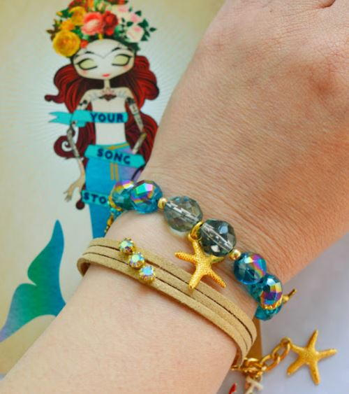 Nautical Chic Bracelets DIY