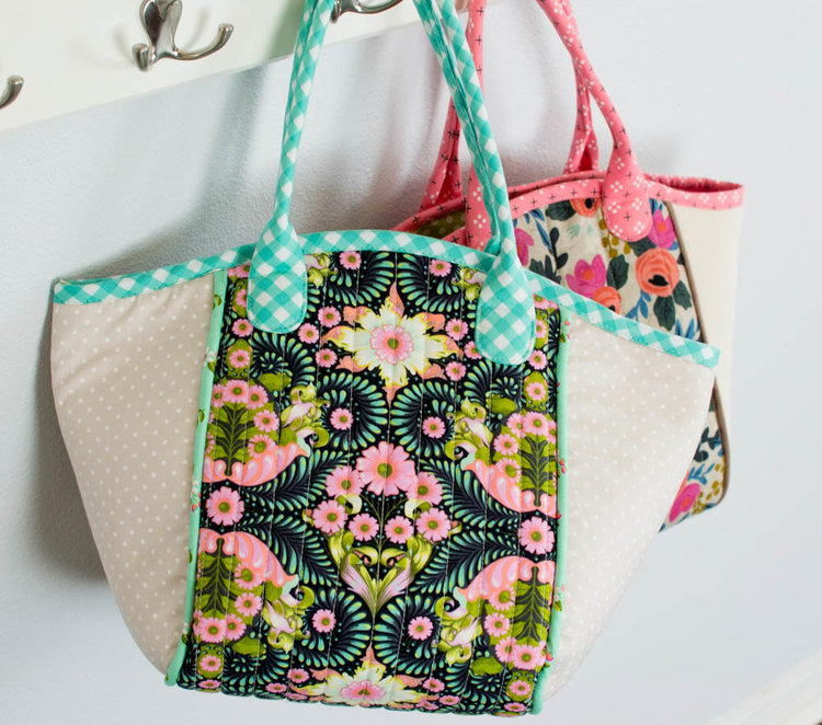 Spring Diy Basket Tote Pattern Allfreesewing Com