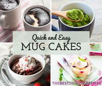 26 Quick and Easy Mug Cake Recipes