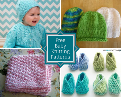 How To Knit A Baby Girl Hat Viet