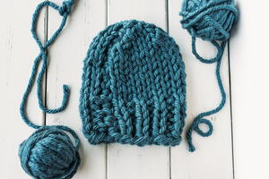 Cozy Bulky Knit Hat