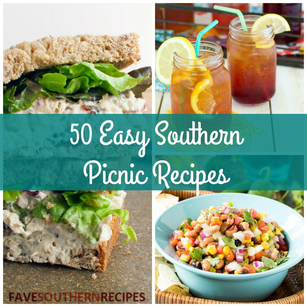 50 easy southern picnic recipes favesouthernrecipes forumfinder Choice Image