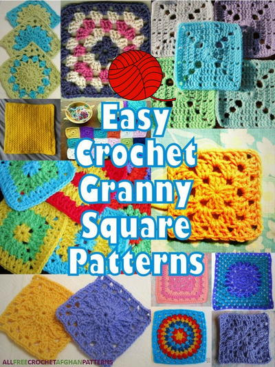 40 Easy Crochet Granny Square Patterns Adorable Granny Square Crochet Patterns