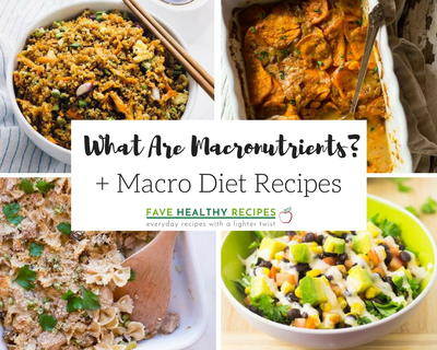 What Are Macronutrients  Macro Diet Recipes