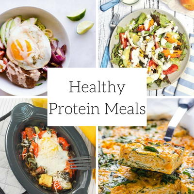 Recipes with Good Sources of Protein