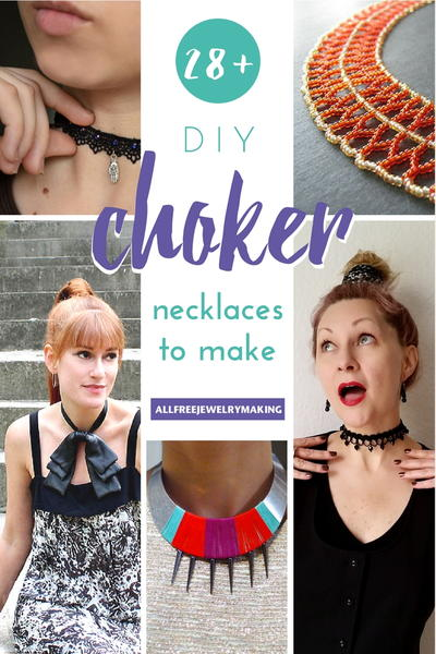 28 DIY Choker Necklaces to Make