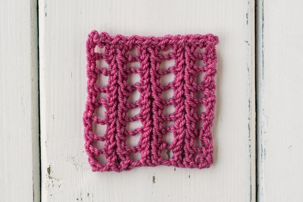 How to Knit the Feathered Ladder Stitch | AllFreeKnitting.com