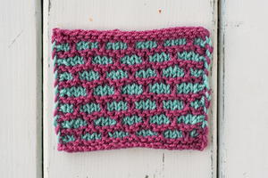 How to Knit the Brick Stitch