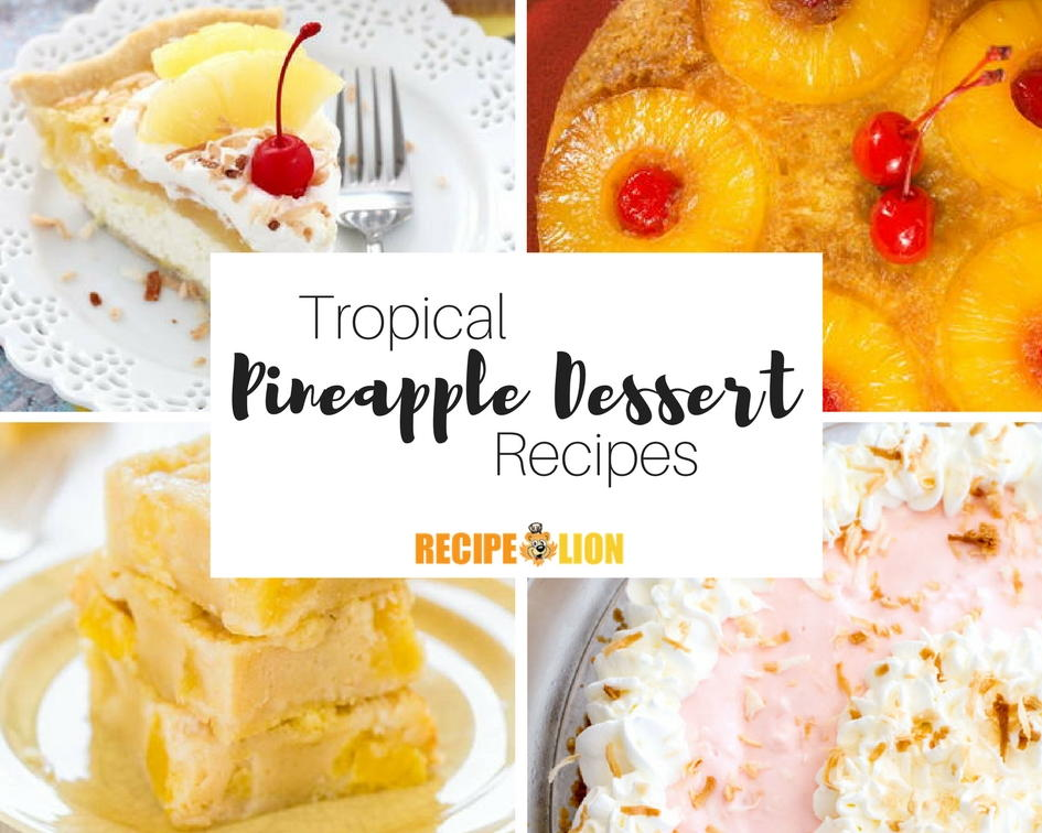 14 pineapple dessert recipes how to cut a pineapple recipelion forumfinder Image collections