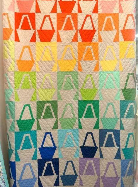 Modern Basket Quilt Block Tutorial | FaveQuilts.com : basket quilt - Adamdwight.com