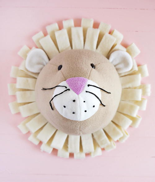 Adorable Nursery Lion Craft