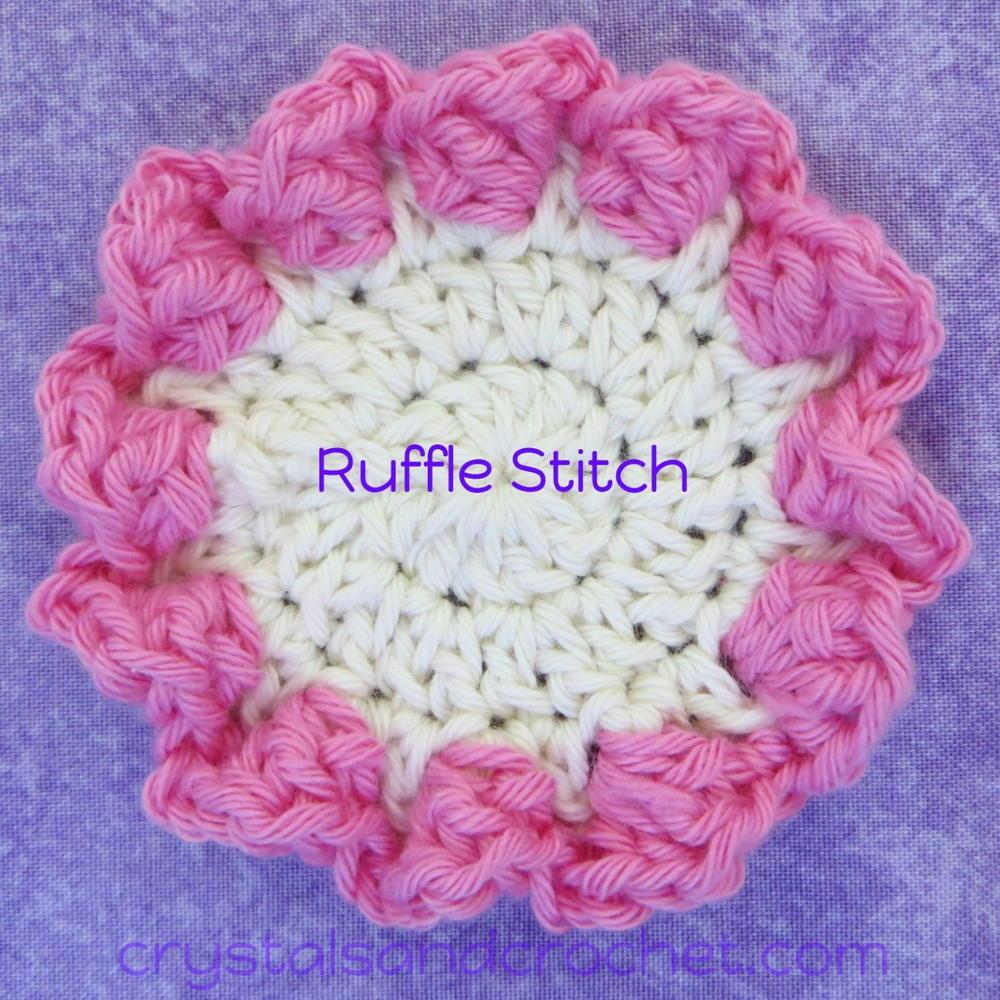 Ruffle Stitch Crochet Pattern | AllFreeCrochet.com