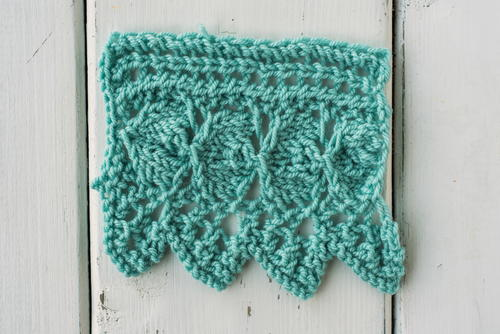 How To Knit The Garden Edging Stitch Allfreeknitting